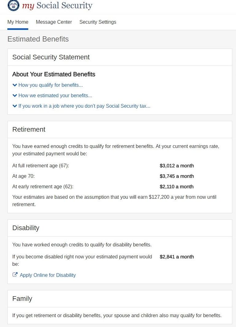 Your social security statement is not in the mail meridian if you have saved on your own for retirement and you are in good health it is usually best to delay taking payments until age 70 thecheapjerseys Gallery